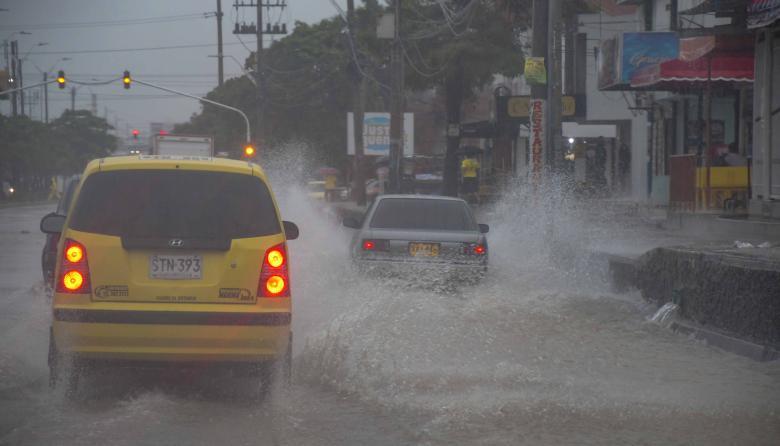 Continuarán las condiciones nubosas en áreas del Caribe.