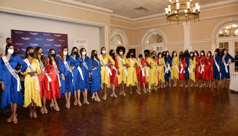Candidatas al Miss Universe Colombia tuvieron entrevista con el jurado