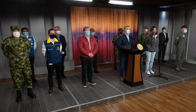 Duque anuncia ayuda humanitaria para Bolívar, Magdalena, Antioquia y Chocó