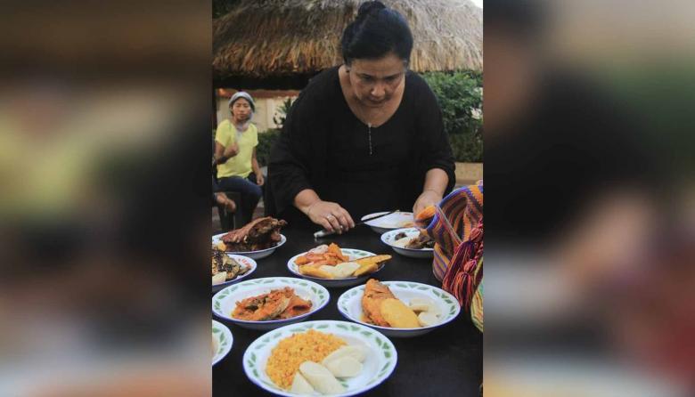 Tivi López es dueña de una gran sutileza a la hora de cocinar, sobre todo los platos tradicionales wayuu.