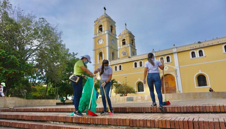 Inician limpieza de espacios públicos en Sincelejo