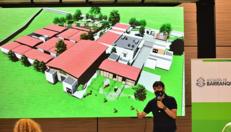 Alcalde presentó diseños del centro de atención animal