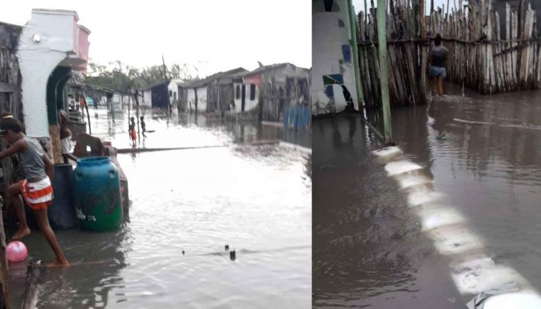 En Bocacerrada esperan las ayudas de los gobiernos ante emergencia invernal