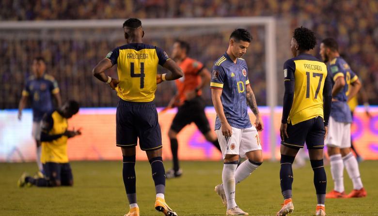 Debacle en Quito: Ecuador golea 6-1 a Colombia