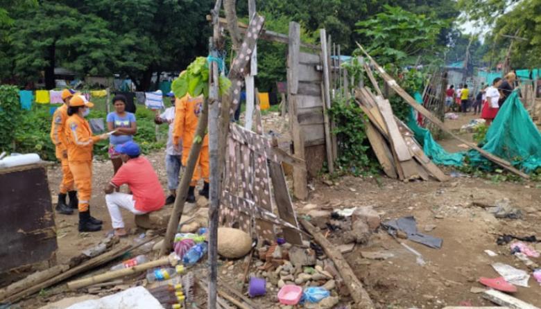 Declaran calamidad pública en La Paz por intensas lluvias