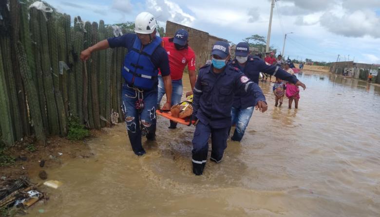 Muere ahogado un hombre en arroyo de Uribia