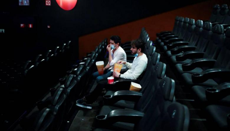 Los cines reabren el próximo 26 de noviembre
