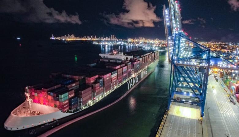 Puerto de Cartagena recibe al barco con mayor capacidad de carga