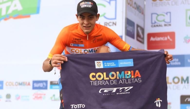 Diego Camargo, nuevo campeón de la Vuelta a Colombia