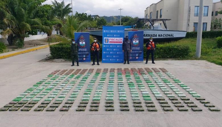 Decomisan más de 300 kilos de coca en el Puerto de Santa Marta