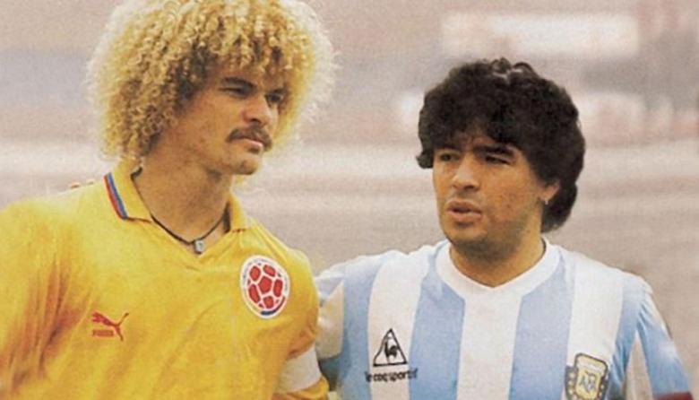 """""""Solo puedo dar gracias, ídolo"""": 'El Pibe' se despide de Diego Maradona"""