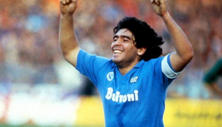 """""""Hasta siempre, ciao Diego"""", el Nápoles despide a Diego Maradona"""