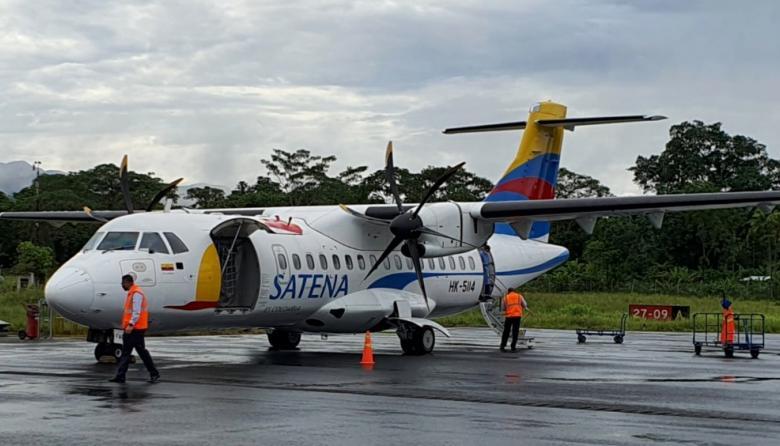 Presidente anunció inyección de $40.000 millones para capitalizar Satena