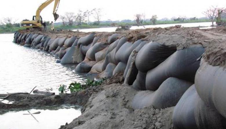 La erosión del río Magdalena mantiene en alerta a las poblaciones en Bolívar