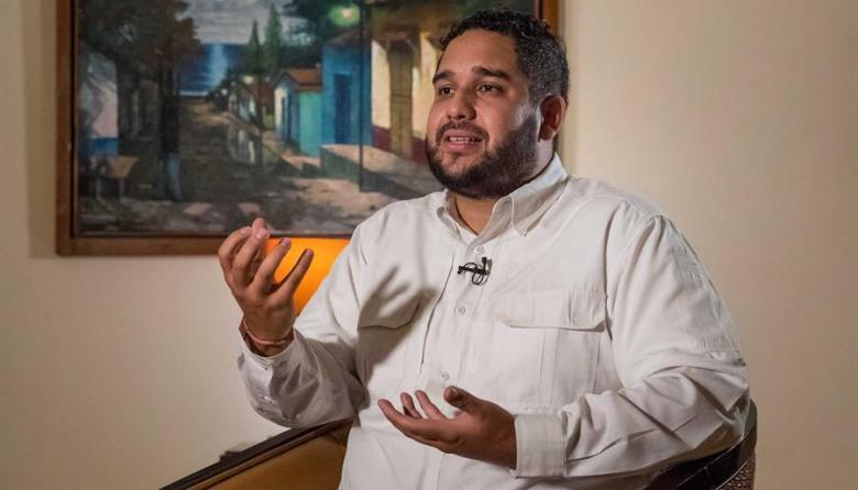 """Un día con """"Nicolasito"""", el hijo de Maduro que quiere ser diputado"""