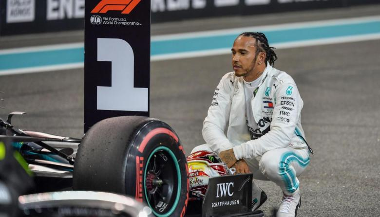 Lewis Hamilton, campeón de la F1, dio positivo por Covid-19