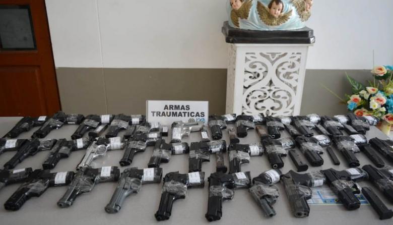Armas de fogueo estarían siendo utilizadas para delitos en Montería: Policía