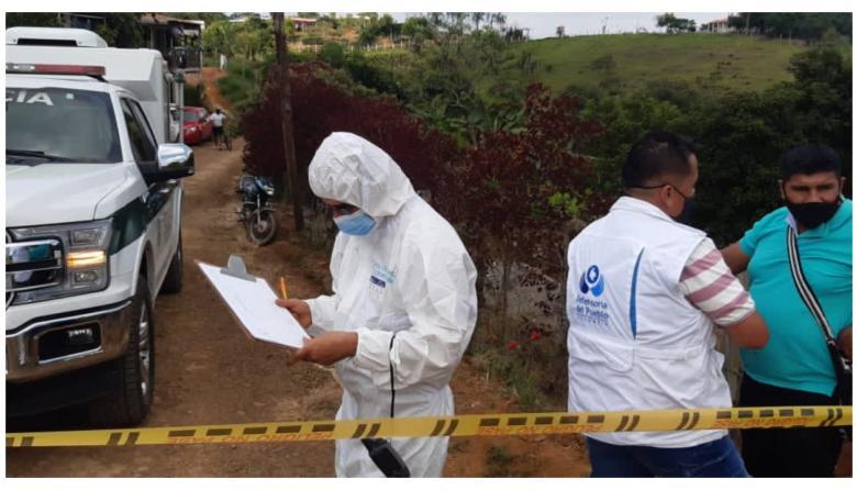 100 millones de pesos por responsables de la masacre en el Cauca