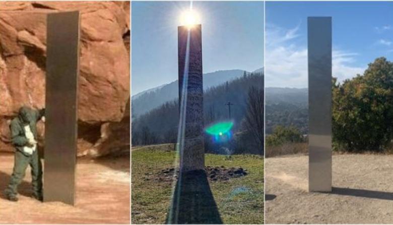 ¿Quién construye los monolitos que han aparecido en varias partes del mundo?