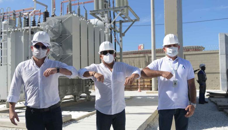 Entra en operación nuevo transformador de potencia en Puerto Colombia