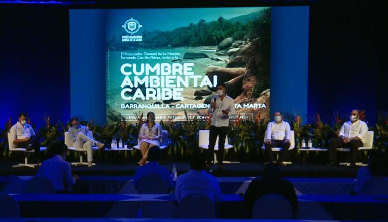 Cumbre ambiental analizó situación de Ciénaga de Mallorquín