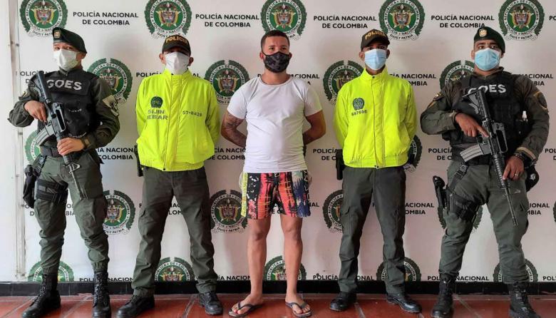 Capturan al 'Mono Abraham' por triple homicidio en Vista Hermosa, Soledad