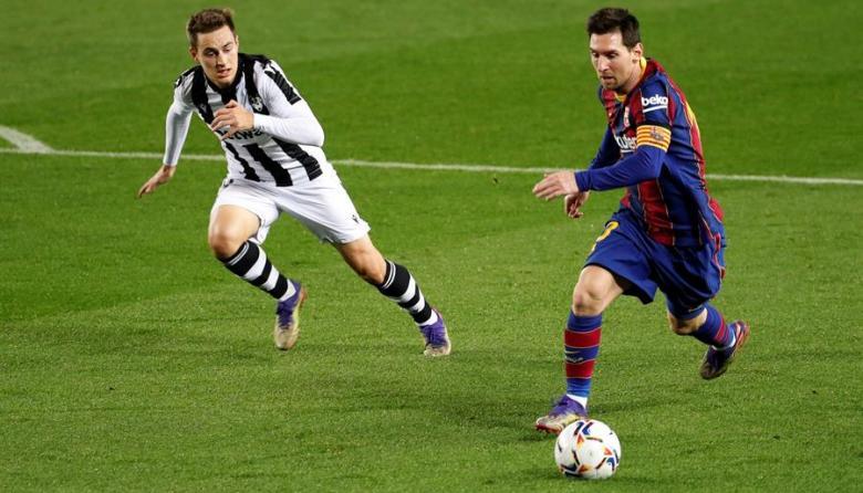 Leo Messi da el triunfo al Barcelona ante el Levante