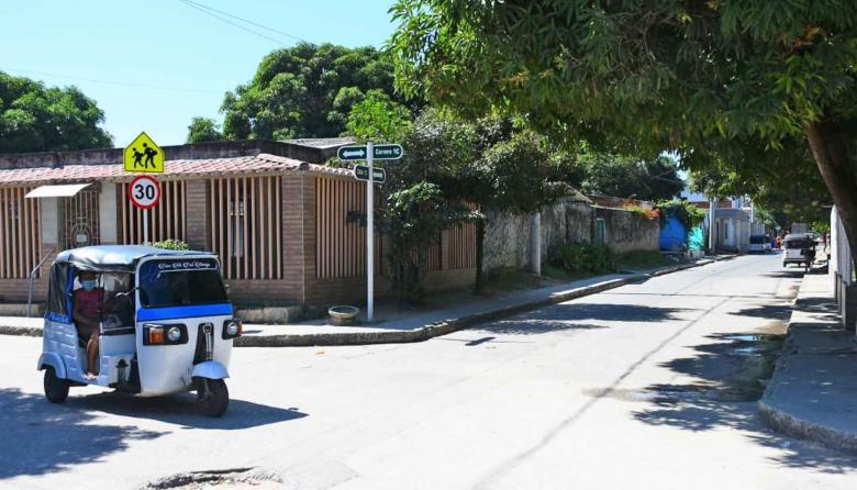 Barrio El Carmen de Malambo.