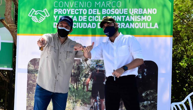 Barranquilla tendrá bosque urbano y pista de ciclomontañismo