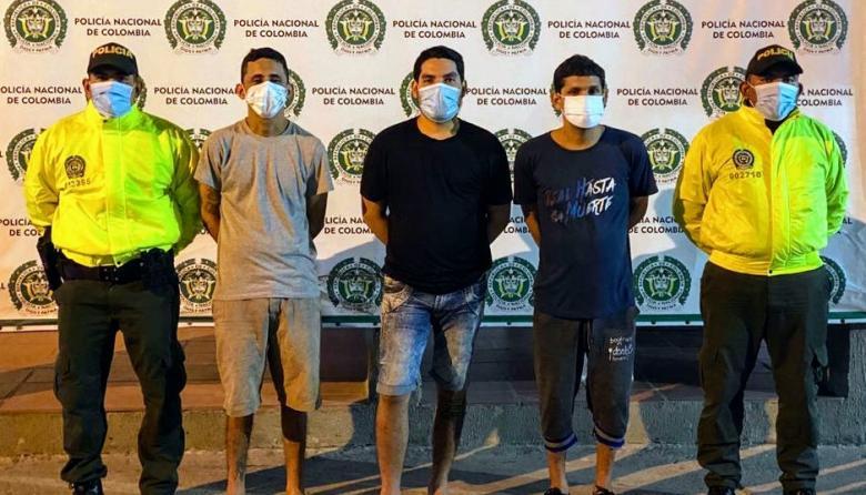 Cayó primera banda delincuencial en Maicao tras visita del Mindefensa