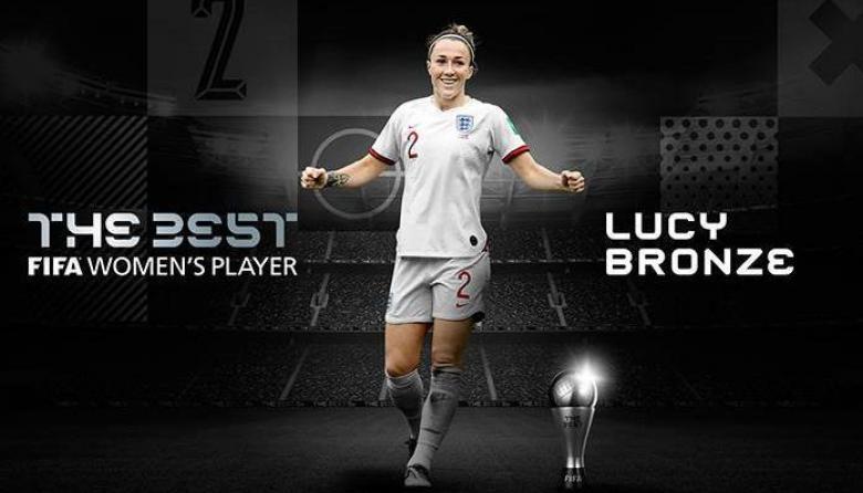 Lucy Bronze, elegida mejor jugadora de 2020