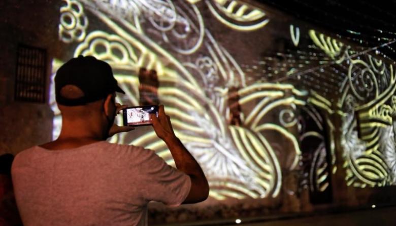Videos en tecnología mapping, parada obligatoria en Catedral de Cartagena