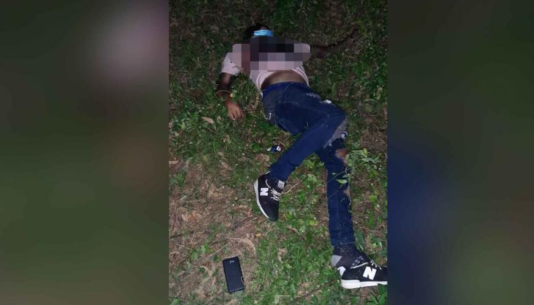 Hallan a hombre muerto con disparo en el tórax en zona enmontada de Soledad