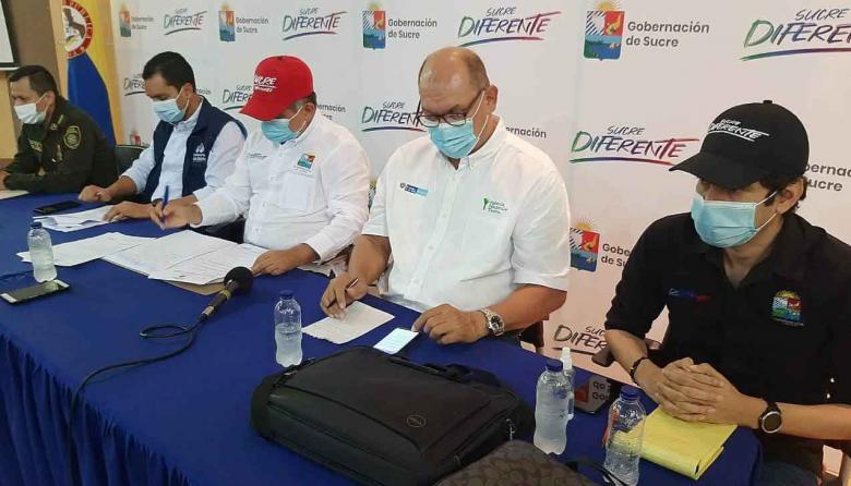 Reportan avances en el proyecto de deslindes de tierras en Sucre