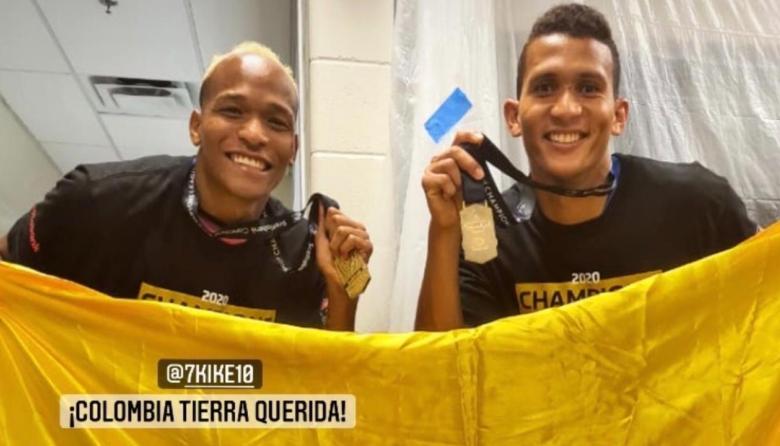 El barranquillero Francisco Meza, campeón de la Liga de Campeones de Concacaf