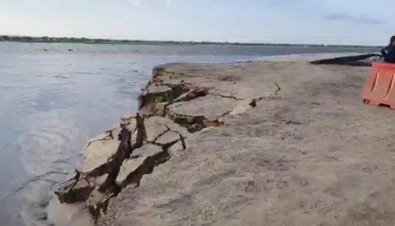 Erosión en Salamina no da tregua