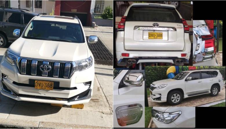 Denuncian robo de camioneta de alta gama en el norte de Barranquilla