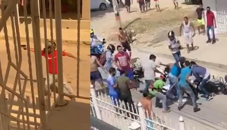 Hombre fue a atracar y por poco lo linchan