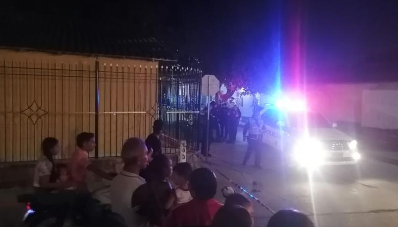 Ataque sicarial en Carrizal: un herido a bala