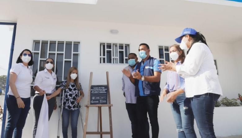 Gobernación entrega nuevos centros de vida en tres municipios