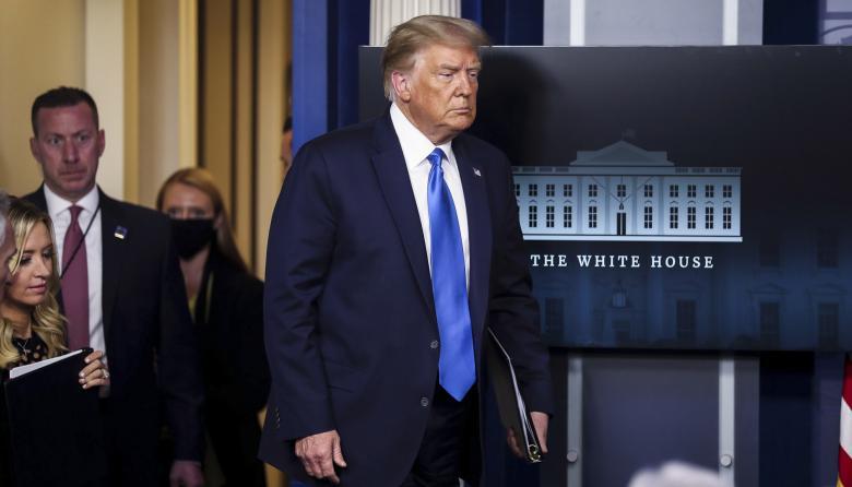 """Trump, orgulloso de ser """"el primer presidente"""" sin """"nuevas guerras"""""""