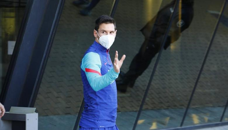 Leo Messi, delantero del Barcelona.
