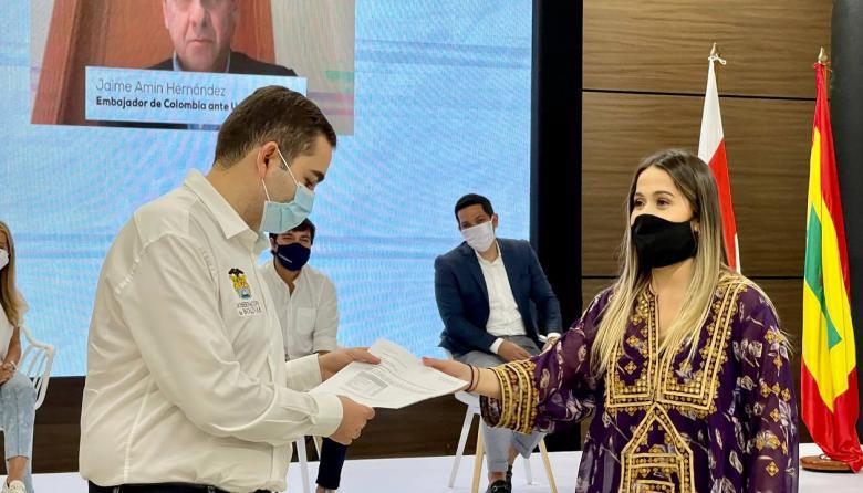 Emiratos Árabes dona 100 unidades de cuidados intermedios para Bolívar
