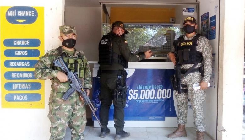 Grupos Gaula afianzan su trabajo contra la extorsión en Sucre