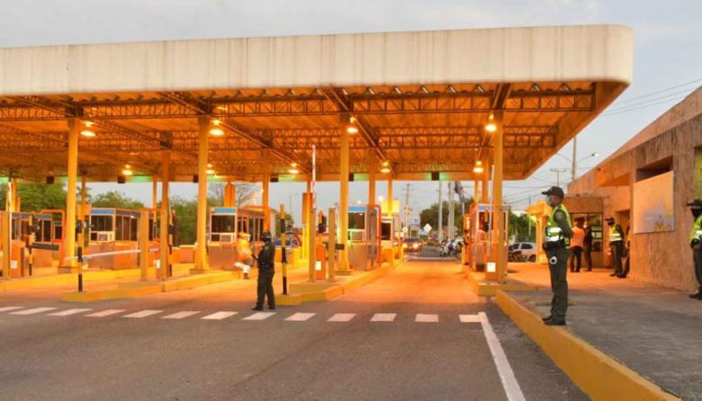 Solicitan suspender los cobros en los peajes de Cartagena