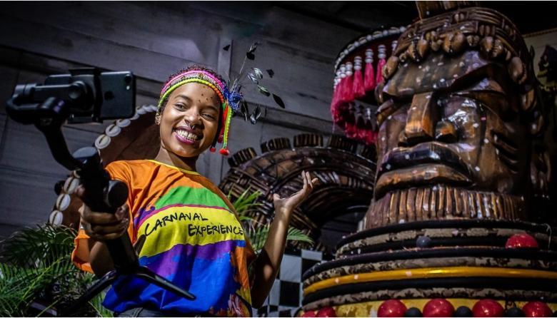 La alegría del Carnaval de Río de Janeiro se podrá sentir en casa