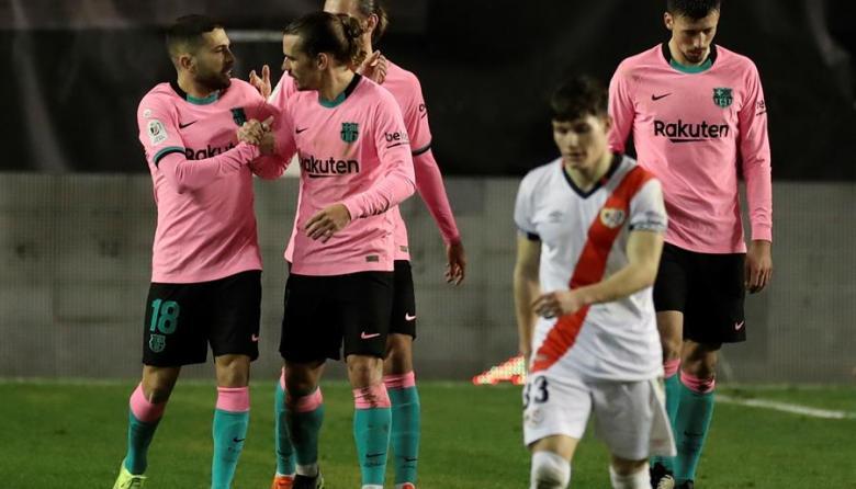 El Barcelona se enfrentará contra el Sevilla en semifinales de la Copa del Rey.