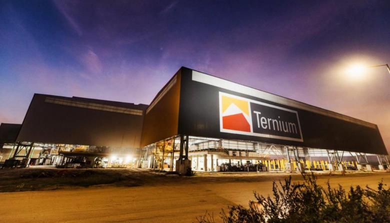 Vista de las instalaciones de Ternium.