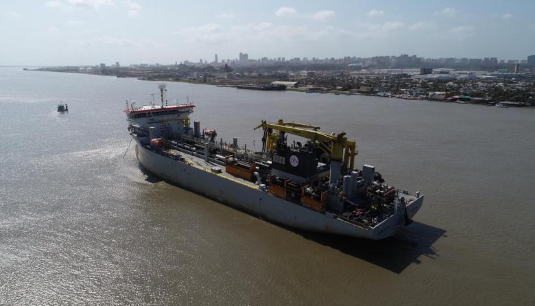 Aumenta a 9,2 el calado en la zona portuaria