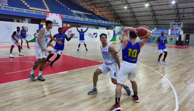La Selección Colombia de Baloncesto, lista para la ventana de la Americup